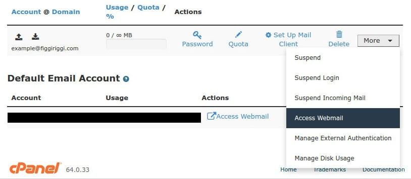 Easy way to access your webmail