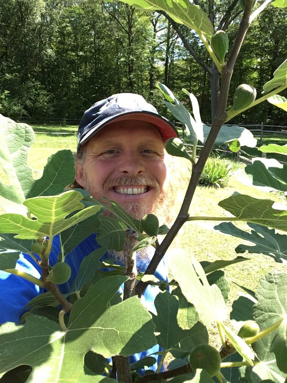 A happy gardener
